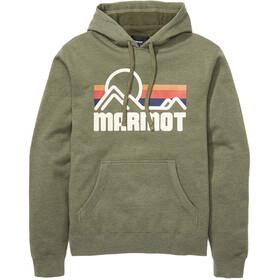 Marmot Coastal Hættetrøje Herrer, nori heather